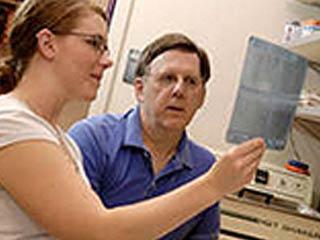 Undergraduate in Lab